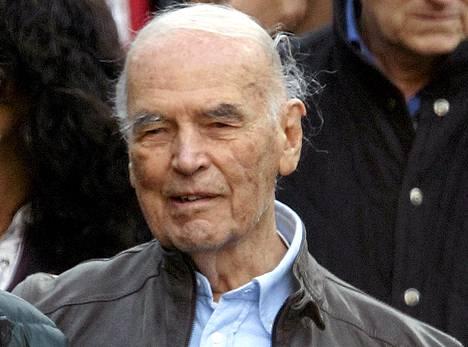 Erich Priebke Roomassa 2010.