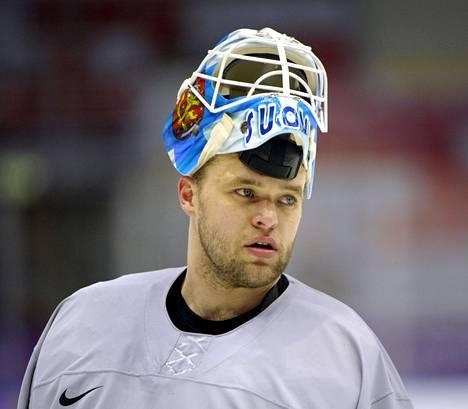 Antti Niemi oli mukana Leijonissa Sotšin olympialaisissa.