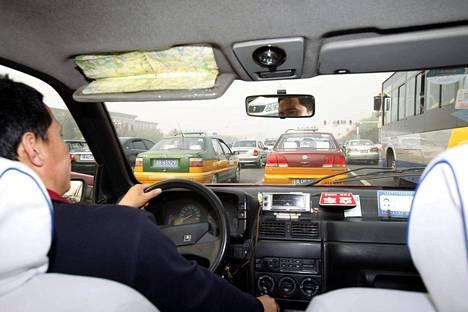 Pekingissä taksin taksamittariin voi luottaa.