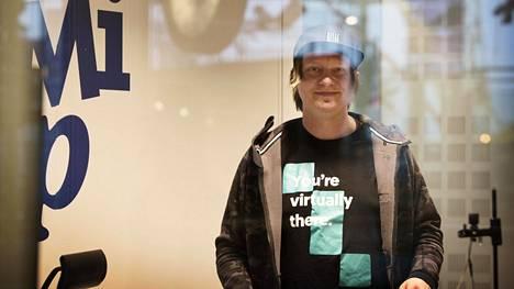 Radio Suomipopin Aamulypsyä juontava Jaajo Linnonmaa on myös intohimoinen yrittäjä.