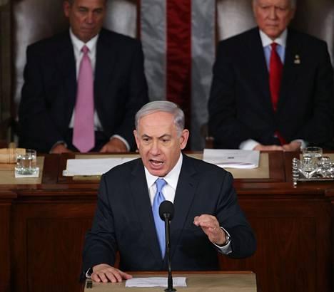 Benjamin Netanjahun maaliskuun alussa Yhdysvaltain kongressissa pitämä puhe aiheutti paheksuntaa Barack Obaman hallinnossa.