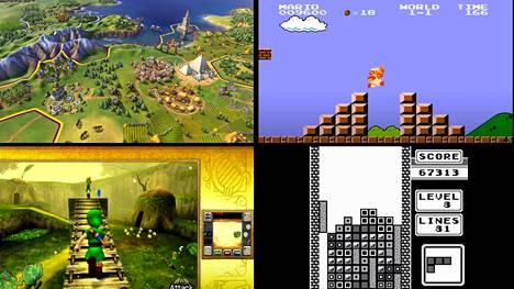 Lukijoiden suosikeiksi valikoitui keskenään kovin erilaisia pelejä. Civilization-pelisarja, Super Mario Bros -pelit, The Legend of Zelda -pelisarja ja Tetris muodostivat kärkinelikon.