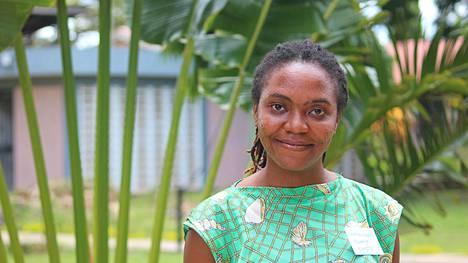 Tansanialainen Immaculata Mwanja aloitti vapaaehtoisena, jatkoi data-analyytikoksi ja on nyt järjestönsä paikkatietoasiantuntija.