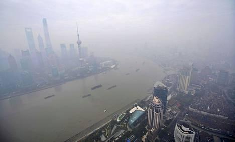 Muun muassa Shanghai uhkaa jäädä suurelta osin veden alle, kertoo tiistaina julkistettu tutkimus.