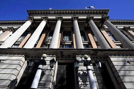 Kansallisarkisto Helsingissä torstaina 8. huhtikuuta.