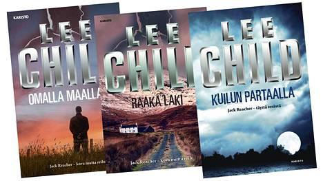 Suomessa Lee Childin kirjoja on julkaissut Karisto.