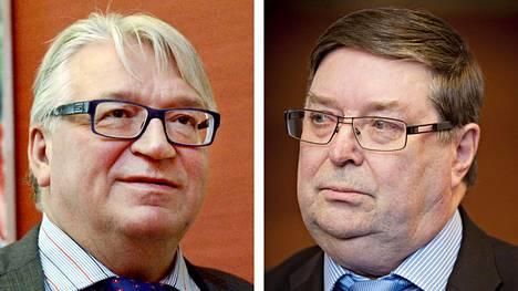 Kyösti Kakkonen ja Lasse Laatunen