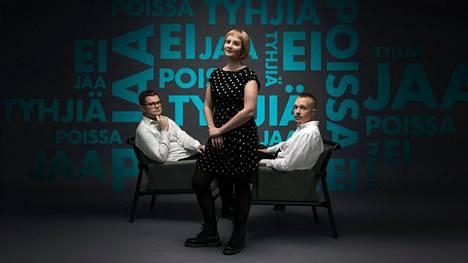 Podcastia toimittavat Robert Sundman, Helmiina Suhonen ja Olli Seuri.