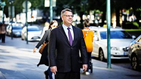 Richard Lesser vieraili Suomessa kuluneella viikolla.
