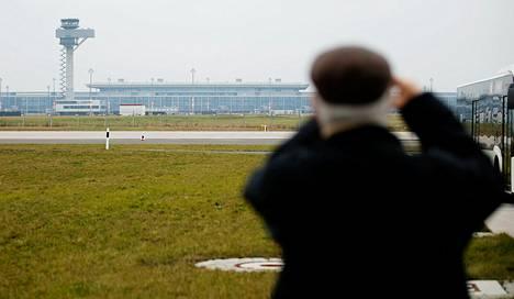 Berliinin ja Brandenburgin Willy Brandt -lentokenttä tammikuussa 2014.