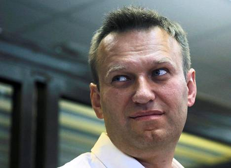 Aleksei Navalnyi Moskovassa elokuun alussa.