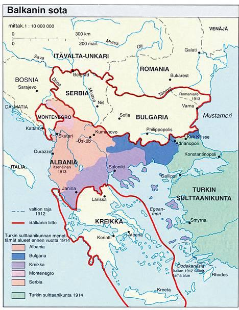 Balkanin Sota Paattyi Ihmiset Hs Fi