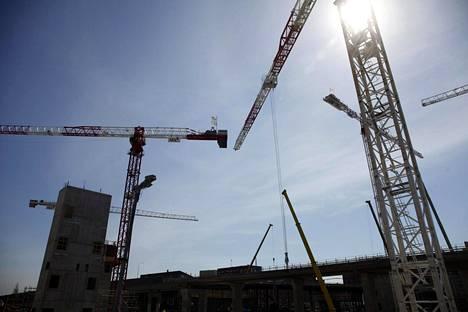Yksi SRV-rakennusliikkeen suurista kohteista on ollut Helsingin Kalasataman tornitalot.