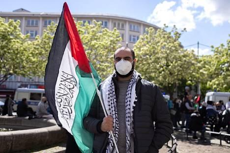 Ahmad Saleh toimii hammaslääkärinä Berliinissä ja haluaisi vierailla Palestiinassa.