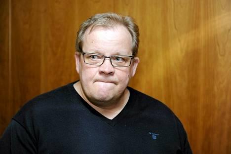 AKT:n hallituksen varapuheenjohtaja Veijo Ruonala.