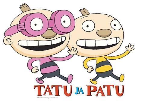 Tatulla on silmälasit, Patu on prillitön.