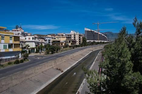 'Ndrangheta-mafia hallitsee Calabrian alueella Italiassa.