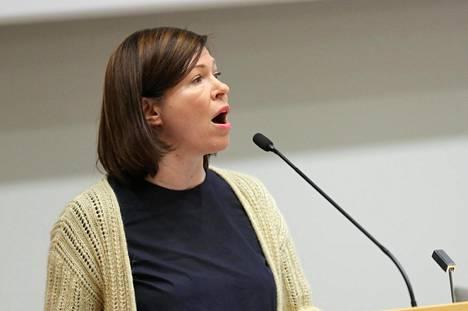 Apulaiskaupunginjohtaja Anni Sinnemäki.