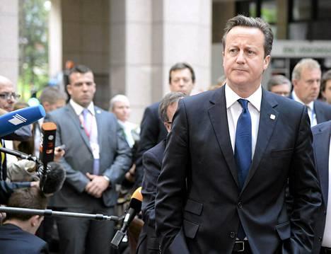 David Cameron vastusti tiukasti Junckerin valintaa liian liittovaltiomyönteisenä henkilönä.