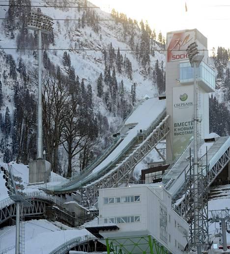 Sotšin talviolympialaiset järjestetään 7.–23. helmikuuta.