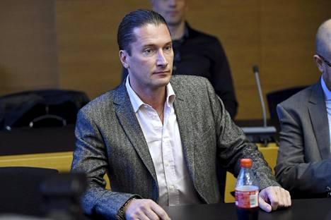 Tomi Metsäketo Helsingin käräjäoikeudessa perjantaina.