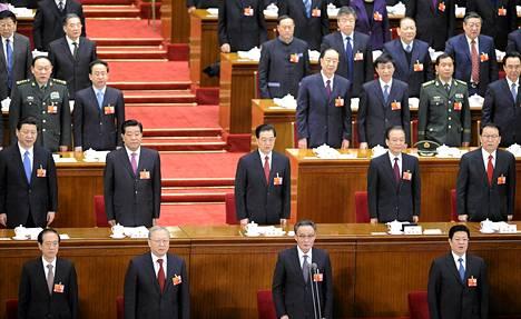 Kiinan parlamentin vuosittainen istunto alkoi Pekingissä.