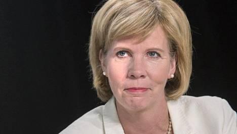 Rkp:n puheenjohtaja Anna-Maja Henriksson.