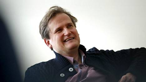 Pianisti-kapellimestari Olli Mustonen kuvattuna Porissa vuoden 2019 tammikuussa.