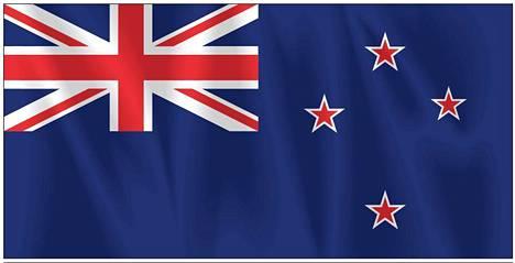 Uuden-Seelannin nykyisen lipun kulmassa on Britannian lippu.