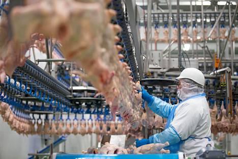 Siipikarjan tuotanto kasvaa edelleen, mutta aiempaa hitaammalla vauhdilla.