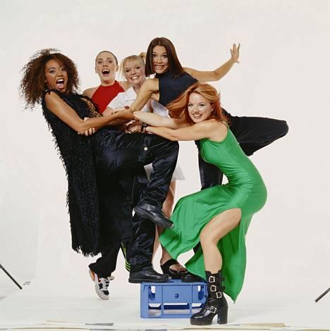 Spice Girls -yhtye aloitti tyttöbändien ajan.