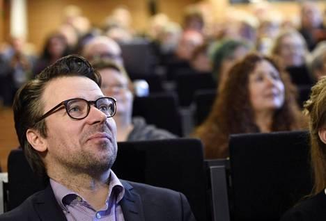 Vihreiden kannattajista vain 29 prosenttia on erittäin varmoja, että vaalikopissa äänestäisi vihreitä. Kuvassa puheenjohtaja Ville Niinistö. Hän esitteli puolueensa vaalikampanjan kärkiteemoja Vantaalla tammikuun lopussa.