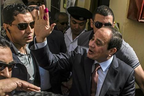 Toukokuun lopulla järjestetyissä presidentinvaaleissa Abdel Fattah al-Sisi sai äänistä liki 97 prosenttia.