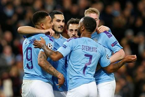 Manchester City pelasi tiistai-iltana 1–1-tasapelin Mestarien liigassa Šah'tar Donetskin kanssa. City varmisti paikan pudotuspeleissä.