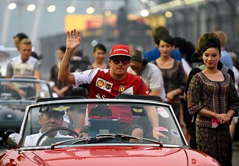 Kimi Räikkönen on erittäin suosittu myös Japanissa.