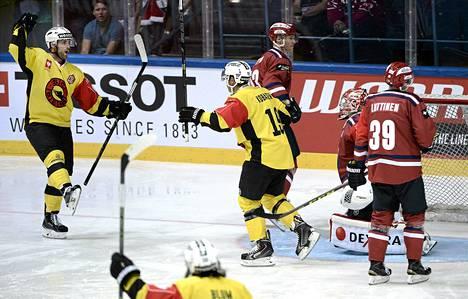 HIFK voitti Bernin Espoossa 3–1, vaikka Bernin kannattajien häiriköinti sotki helsinkiläisten peliä.