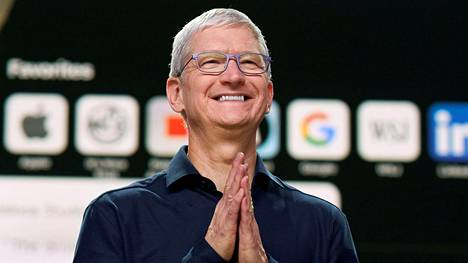 Applen toimitusjohtajan Tim Cookin omaisuuden arvo nousi yli sataan miljardiin dollariin.
