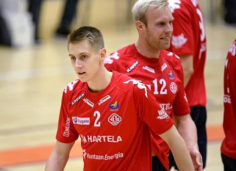 Korson Vedon Lassi Nurminen (vas.) ja Toni Kankaanpää.