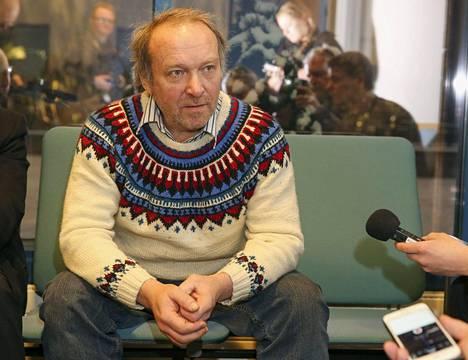 Teuvo Hakkaraista haastateltiin keskiviikkona Jyväskylän käräjäoikeudessa.