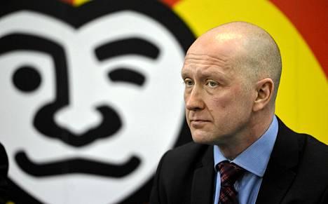 Jokerien entinen toimitusjohtaja Jarmo Kekäläinen on nykyään NHL-seura Columbus Blue Jacketsin toimitusjohtaja.
