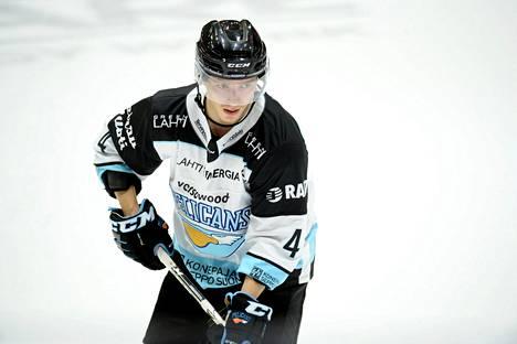 Pelicansin Iikka Kangasniemi oli hyvässä vireessä TPS:ää vastaan. Kuva vuodelta 2020.