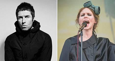 Liam Gallagher ja Nina Persson nähdään kesällä Turussa.