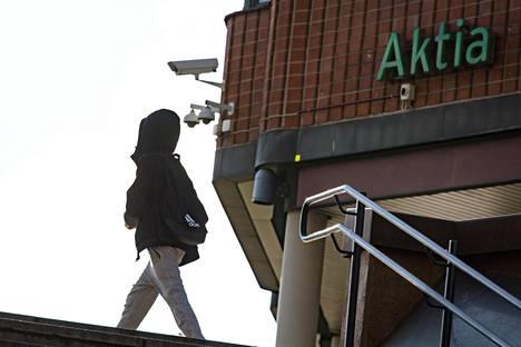 Aktia liiketulos kasvoi kuluvan vuoden ensimmäisen neljänneksellä 16,9 miljoonaan euroon, kun se vuotta aikaisemmin oli 2,8 miljoonaa euroa. Kuvassa Aktian toimipiste Tikkurilassa.