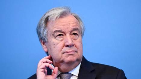 Portugalilainen António Guterres on YK:n yhdeksäs pääsihteeri. Hän vierailee Suomessa maanantaina.