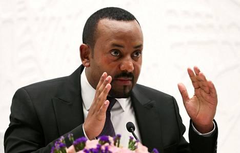 Etiopian pääministeri Abiy Ahmed on tämänvuotinen Nobelin rauhanpalkinnon saaja.