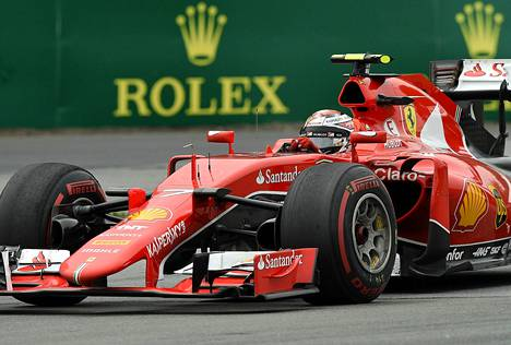 Kimi Räikkösen mukaan Kanadan rata oli Ferrarille yksi vaikeimmista. Jäämies uskoo Ferrarin parantavan jatkossa.