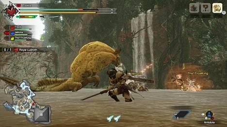 Peli näyttää upealta sekä tv:stä että Switchin omalta näytöltä, josta suuren maailman saa kämmenelle. Lisäksi monen konsolin kesken voi pelata moninpeliä paikallisesti.