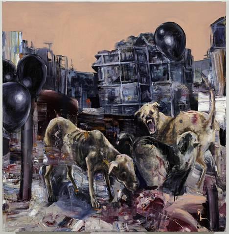 Viljami Heinonen: Beneath the Remains, 2017, öljy kankaalle