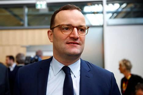 Saksan terveysministeri Jens Spahnin mukaan lakiesitys valmistuisi parlamentin käsiteltäväksi vielä tänä vuonna.