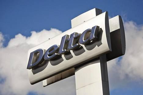 Delta Auton autokauppa Roihupellon teollisuusalueella Helsingissä.